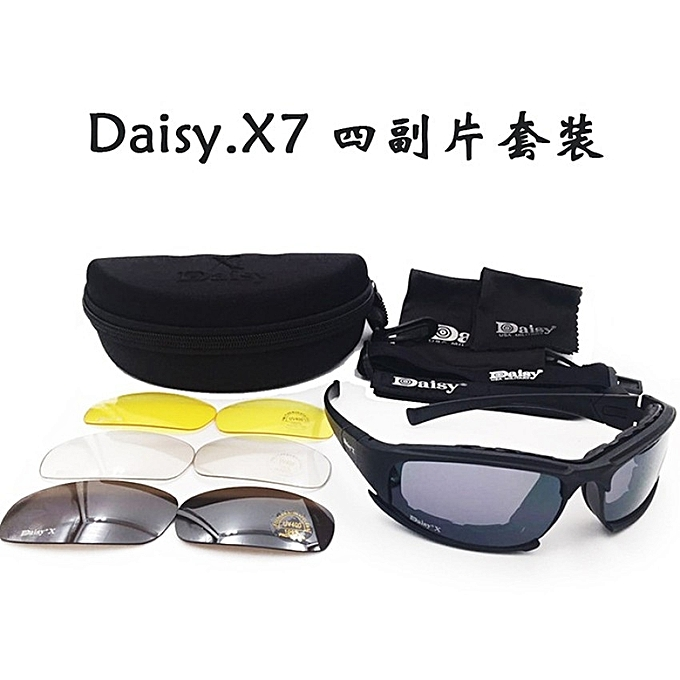 3ee9fd7fcc 2017 Military Fans United States Daisy X7 Goggles Cs Tactical Glasses  Shooting Night Vision Motorcycle Goggles