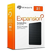Expansion 2TB - Portable External Hard Drive - USB 3.0 - STEA2000400 - Black