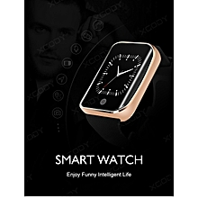 GOLD Bluetooth SmartWatch Touch Screen SIM GMS Phone Activity Tracker For Phones