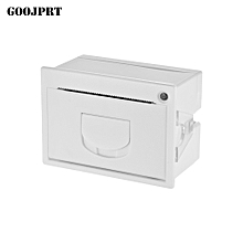 QR204 58mm Mini Embedded Receipt Thermal Printer RS232 + USB Interface High Speed Printing 50-85mm/s