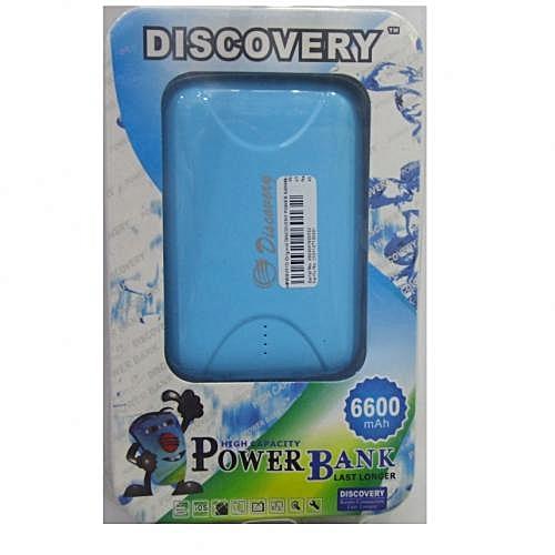 Power Bank 6600mAh - Blue