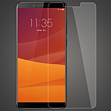 For Lenovo K5 Play Phone Protective Tempered Glass Screen Protector Film Anti-scratch Anti-dirt