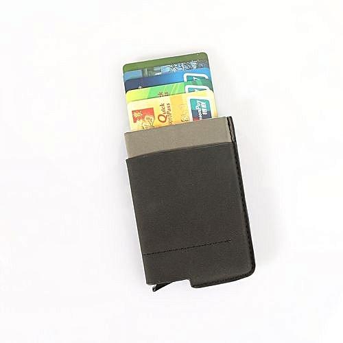 Buy generic aluminum alloy money cash clip card holder wallets aluminum alloy money cash clip card holder wallets business credit card holder black reheart Choice Image
