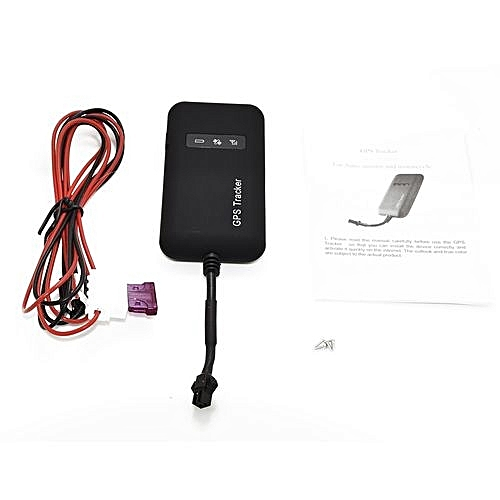 Portable Car Tracker GPS GSM GPRS Real Time Tracking Device Tracker TK110-Black