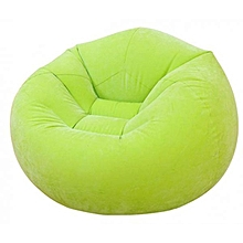 Beanless Bean Bag Chair Green