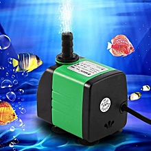ABS Submersible Pump Fish Tank Aquarium Pond Fountain Water Pump (15W)(Buy 1 Get 1 Free Gift)