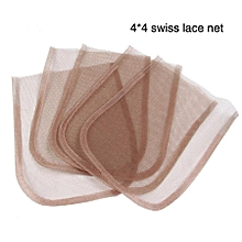 2 Pcs/Lot Swiss Lace net Basement Foundation