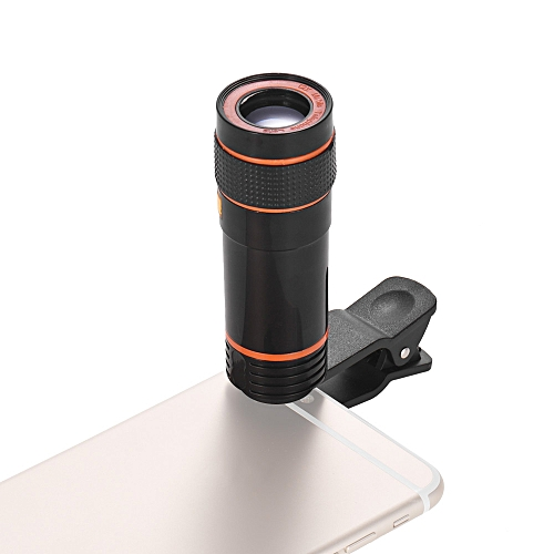 41ae97f4c Generic 12X Zoom Optical Smartphone Telephoto Lens Portable Mobile Phone  Telescope Lens with Clip Universal for iPhone Samsung HUAWEI Xiaomi HTC  Most Phones
