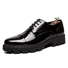 EUR Size 38-44 Business Office Shoes Men Leather Shoes Oxfords Men Shoes Black