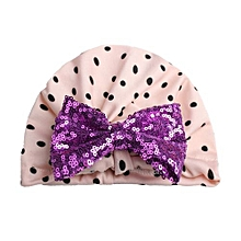 Baby Hats Children Sequins Cap Lovely Cotton 5 Colors Child Care Bling Kids Beanies Hat Girl Turbans