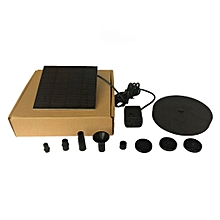 Solar Powered Water Fountain Pump Kits Floating Pump For Outdoor Watering