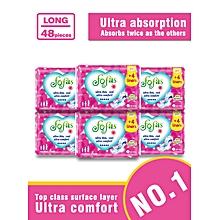 Fofas Sanitary Pad Long (280MM) 8 Pads (COUNT 48)