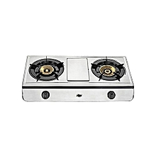 Stylish Gas Stove, Table Top, Stainless steel, 2 Burner