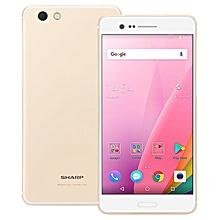 Z3 FS8009 5.7-inch 2K (4GB, 64GB ROM) Android 7.0 Nougat, 16MP + 13MP, 3100mAh, Dual Sim 4G LTE Smartphone - Champagne