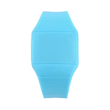 Unisex LED Digital Touch Screen Jelly Watch Wristwatch Plastic Ultra-thin-Blue