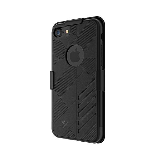 the latest 41585 5266c Floveme Detachable Belt Clip Full Body Case For IPhone 7 Plus / 8 Plus