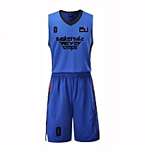 New Customized Students Men's Basketball Team Casual Sport Jersey-Blue(JL-823)