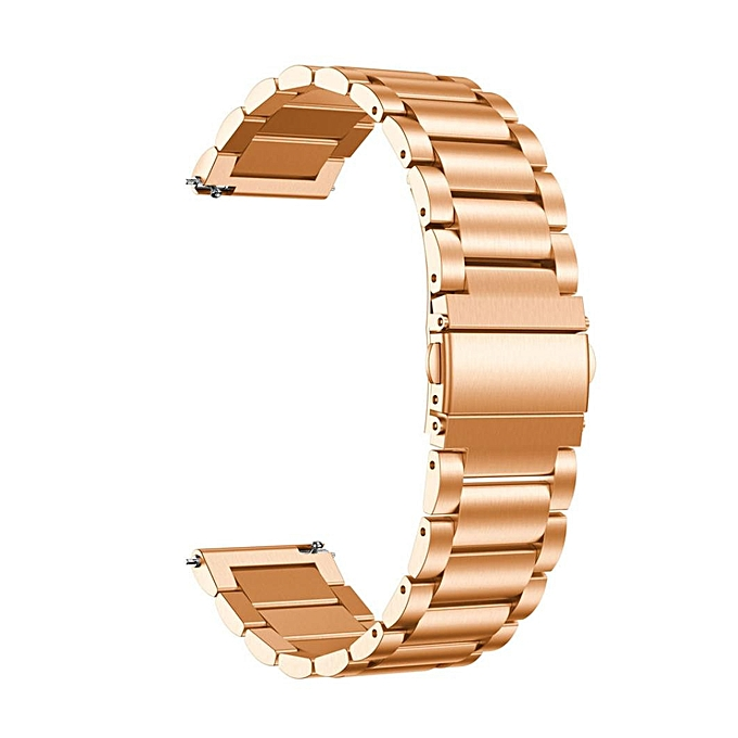 Watch Replacement Stainless Steel Band Bracelet Strap For Garmin Vivomove Hr Rg Rose Gold
