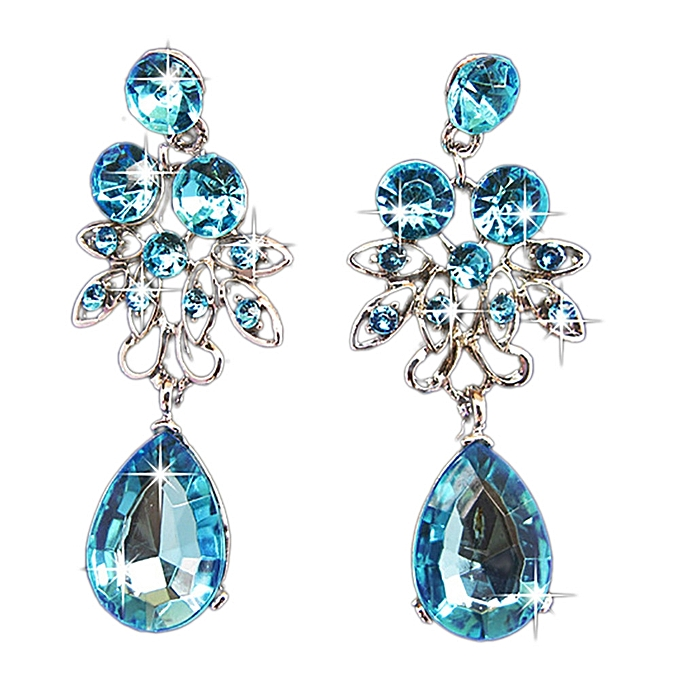 Generic Fovibery Prom Wedding Bridal Jewelry Crystal