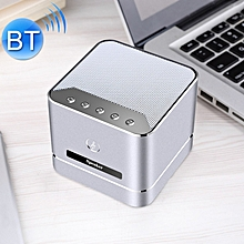 Q7 Portable Heavy Bass Stereo Bluetooth Speaker, Built+AC0-in Mic, Support Hands+AC0-free, TF Card, AUX, For iPhone, Samsung, Huawei, Xiaomi, HTC and Other Smartphones, Bluetooth Distance: about 10m (Silver)