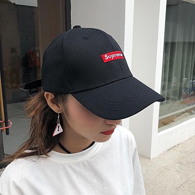 8066454117930 1Medium mark(black)Hat female tide summer baseball cap the student is  recreational Han
