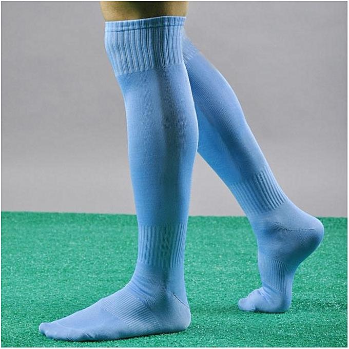 Men Sport Football Soccer Long Socks Over Knee High Sock Baseball Hockey SB