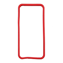 CO Bumper Frame TPU Silicone Case for iPhone 5 5S-red