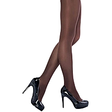 31a373ad26e Nylon Stretchable Full Length Stockings (Brown)