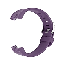 Replacement Silicone Rubber Band Strap Wristband Bracelet Waterproof Durable purple