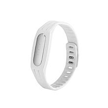 New Replaceable TPE Strap Mi Bracelets - White