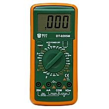 BEST 9205M 9V Handheld LCD Screen Digital Multimeter with Buzzer Test Meter