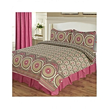 4 Pieces Comforter Set - Queen Size -  Amelie