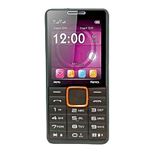 Feature Phone (Dual SIM) - Black  and Orange