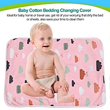 Baby Cotton Urine Mat Diaper Nappy Bedding Changing Cover Pad D