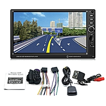 SWM-8012G Car DVD 7-Inch Large Display Screen GPS Navigation Brake Prompt black&silver