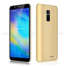 "16GB un-locked 6"" Android 8.1 Mobile Phone Quad Core Dual SIM 3G Smartphone -gold"