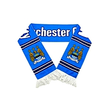 Manchester City FC. Scarf - Blue