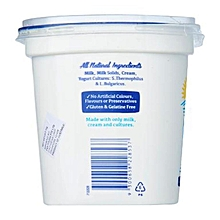1 kg plain/natural whitecow greek yogurt (no added sugar,no preservative)