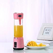 REMAX Handheld USB Electric Fruit Juicer Smoothie Maker Blender Borosilicate Glass Bottle Cup
