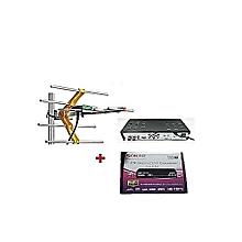 HD Free To Air Digital Settop Box Decoder With Digital TV Aerial