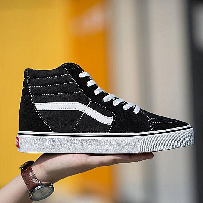 9bfc28c8a854 VANS Old School High-top CLASSICS Unisex MEN S   WOWEN S Skateboarding Shoes  Sports Canvas Shoes