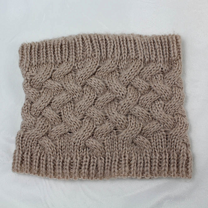 Buy Fashion Africanmall Store Women Men Winter Warm Infinity Cable