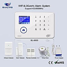 2018 Intelligent Smart Home or Office WIFI 3G ALARM wireless Security System