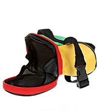 Bicycle Tail Bag/ Saddle Bag Bike Pouch Cycling Seat Bag Multicolor