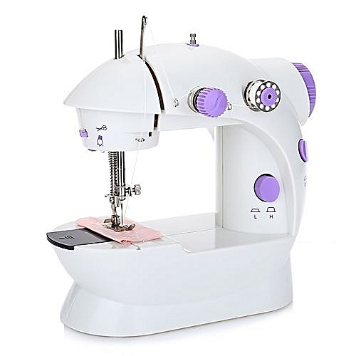 Buy UNIVERSAL Mini Sewing Machine Double Speed Automatic Thread With Unique Buy Sewing Machine Uk
