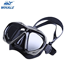 Professional Scuba Myopia Hyperopia Swimming Diving Mask Goggle - Gray