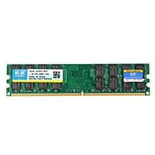 Xiede 4GB DDR2 800Mhz PC2-6400 240 Pin Desktop PC Memory RAM For AMD Motherboard (Green)