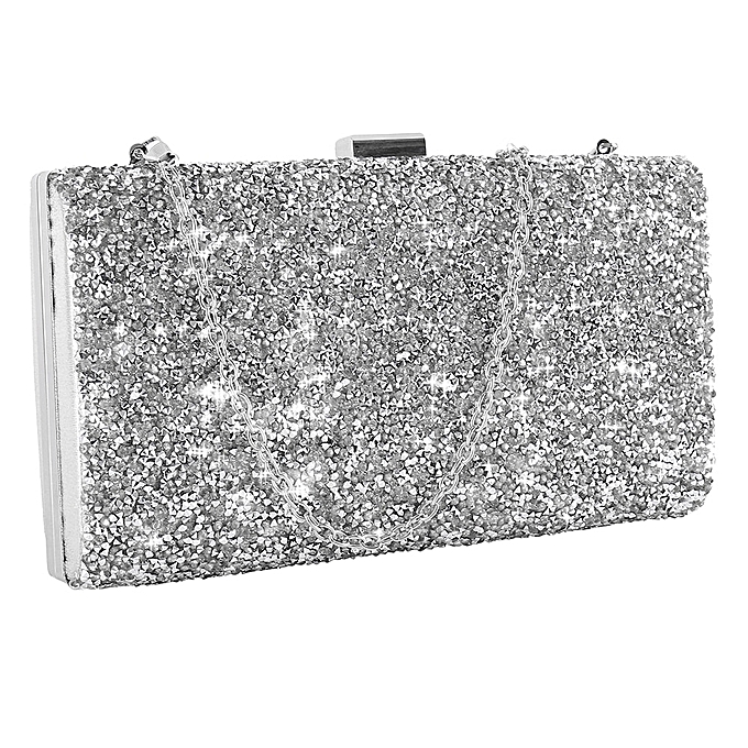 c8165bd4c Women Evening Bag Luxury Black/Silver Wedding Party Bag Diamond Rhinestone  Clutches Crystal Bling Gold