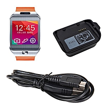 Dock Cradle Station Charger With Cable For Samsung Gear 2 R380 Watch-Black