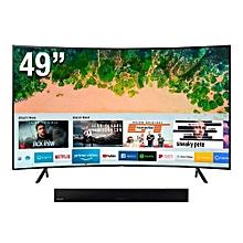 Samsung 49 Inch HDR UHD Smart Curved LED TV (UA49NU7300K ...